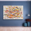 Paint modern abstract art | Abstrak painting LA278_2