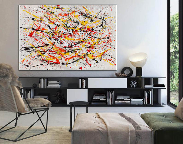 Paint modern abstract art | Abstrak painting LA278_6