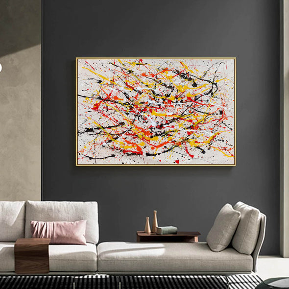 Paint modern abstract art | Abstrak painting LA278_7