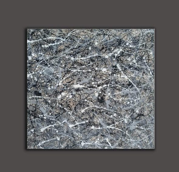 Jackson pollock collection | Jackson pollock drip style painting L929-7