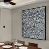 splatter painting collection | splatter painting drip style painting L929-8