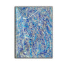 Pollock splatter paint | Pouring paint on canvas L924-8