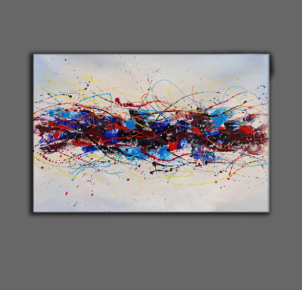 Popular abstract art | Happy abstract art LA87_4