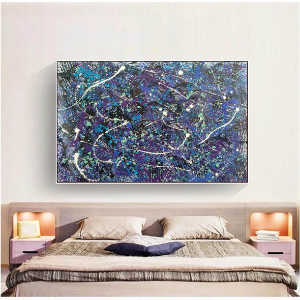 splatter painting style | Dripping paint art L876-10
