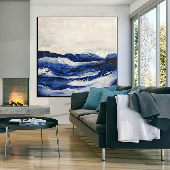 Wall painting abstract | Modern abstract acrylic painting LA233_10