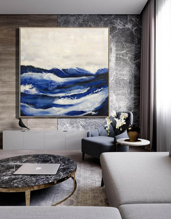 Wall painting abstract | Modern abstract acrylic painting LA233_2
