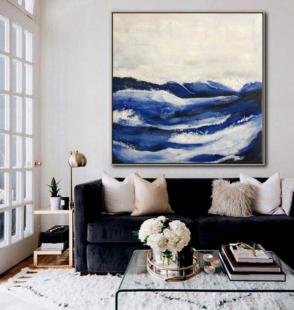 Wall painting abstract | Modern abstract acrylic painting LA233_1