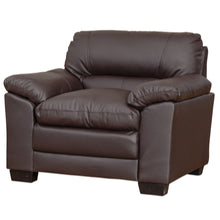 Load image into Gallery viewer, Faux Leather 3,2 1 (Armchair) and Sofa bed With Storage Ottoman available - VEHome