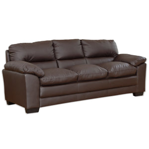 Faux Leather 3,2 1 (Armchair) and Sofa bed With Storage Ottoman available - VEHome