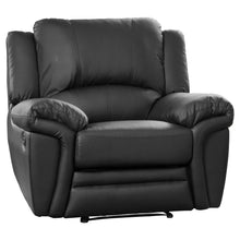 Load image into Gallery viewer, Beautiful Leather Recliner Set 3, 2 and Armchair Available in Black, Brown, Cream or Grey. - VEHome