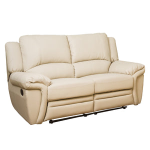 Beautiful Leather Recliner Set 3, 2 and Armchair Available in Black, Brown, Cream or Grey. - VEHome