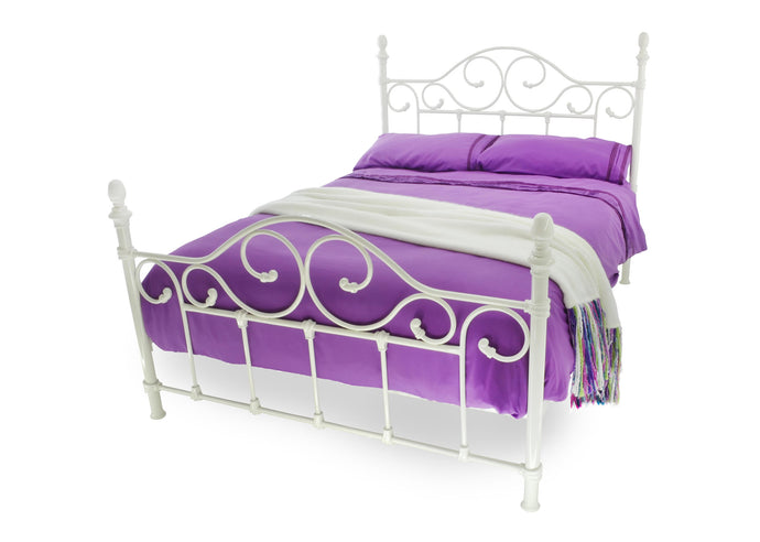 AVON WHITE 5 ft King Size bed - VEHome