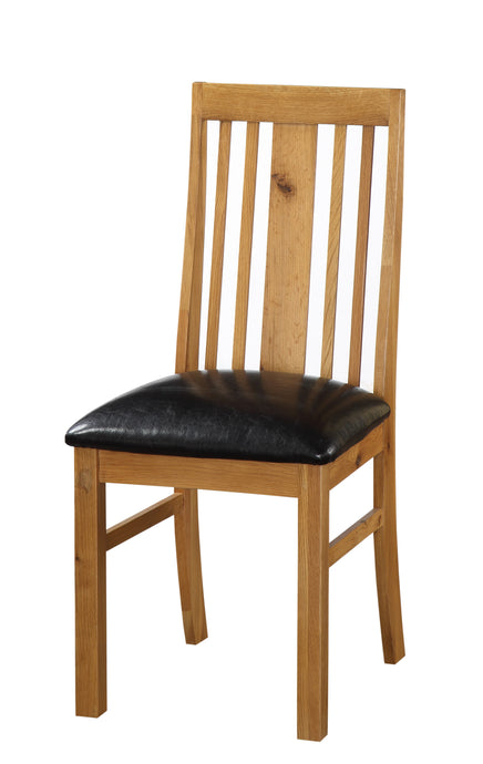 Acorn Solid Oak Dining Chairs (Set of 2 Chairs) - VEHome