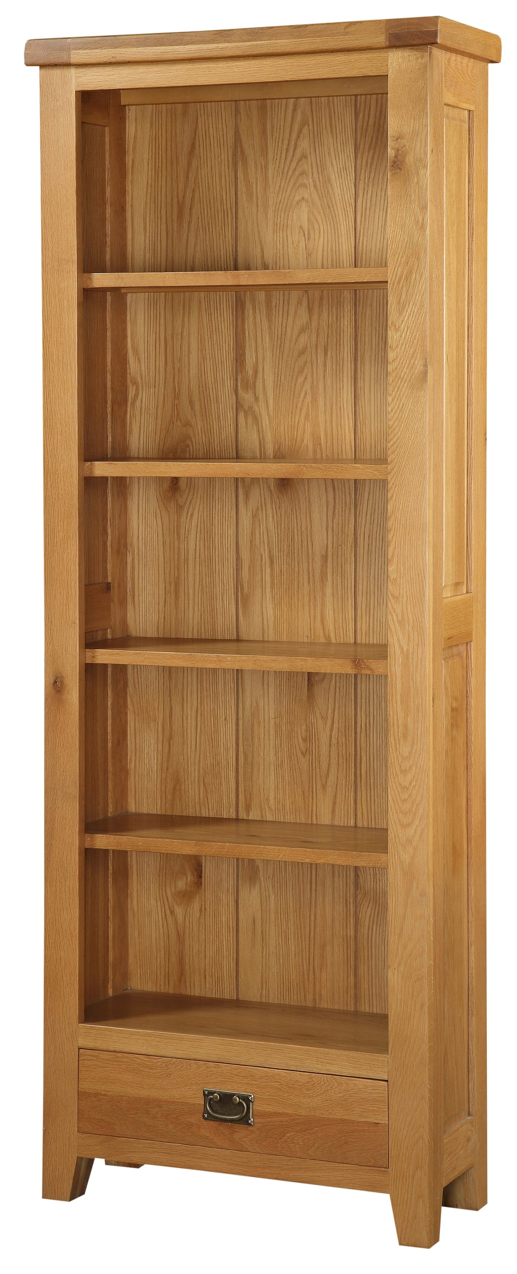 Acorn Solid Oak Bookcase Large - VEHome