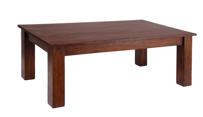 Carnival Dark Coffee Table Solid Acacia Wood