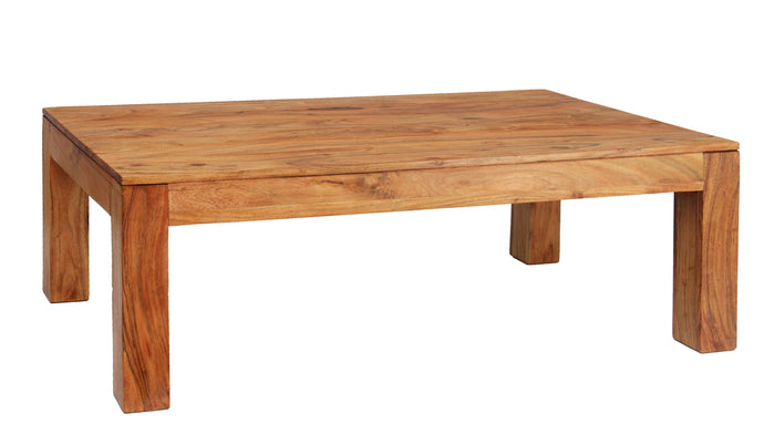 Carnival Light Coffee Table Solid Acacia Wood