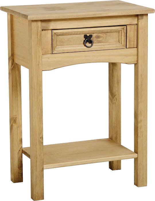 Corona Small Console Table 1 Drawer with Shelf