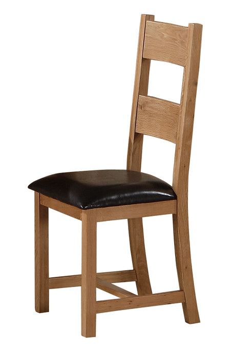 Stirling Dining Chairs Solid Oak (Set of 2) - VEHome