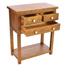 Load image into Gallery viewer, Brace Large Telephone Console Table 3 Drawers - VEHome