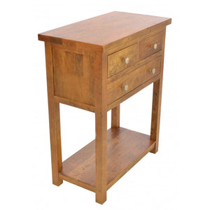 Brace Large Telephone Console Table 3 Drawers - VEHome