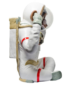 Monkey Astronaut Figurine - Hear No Evil Decorative Ornament