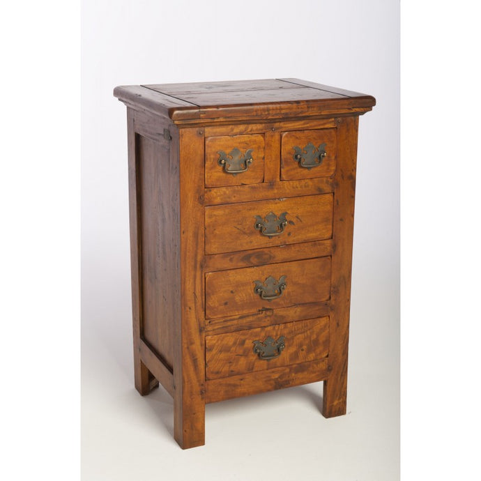 East Indies 2 over 3 Chest of Drawers Solid Mango Wood