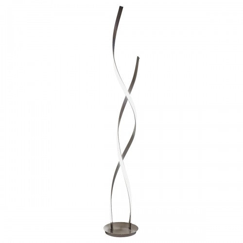 LED Double Twist Tall Floor Lamp - VEHome