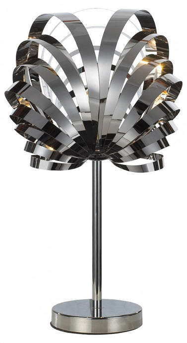 Spiral Lamp Chrome Modern Table Desk Lamp - VEHome