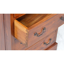 Load image into Gallery viewer, Mahogany Village Two over Three Chest of Drawers Solid Mahogany Wood - VEHome
