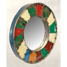 Load image into Gallery viewer, Mosaic Mirror Created From Recycled Oil Drums - VEHome
