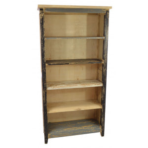 Piccadilly Vintage Bookcase Solid Mindi Wood - VEHome