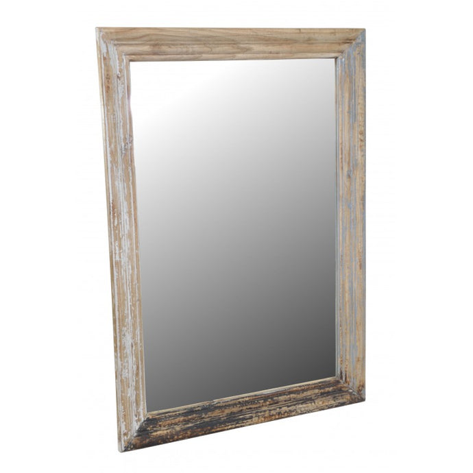 Piccadilly Mirror Solid Mindi Wood