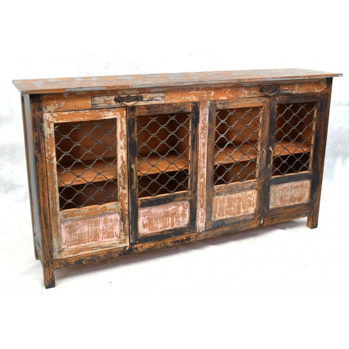 Cuba Large Sideboard Made From Solid Mindi Wood - VEHome