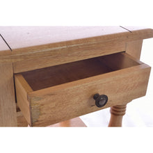 Load image into Gallery viewer, Plato Lamp Bedside Table Solid Mango Wood 1 Drawer - VEHome