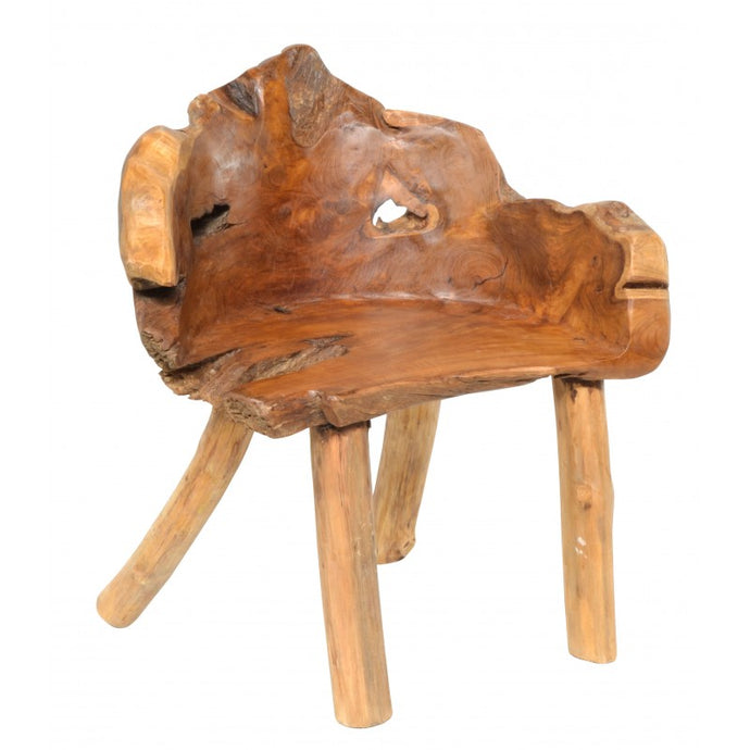 Root Chair Teak tree Root Seat Chair - VEHome