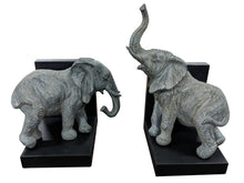 Load image into Gallery viewer, Elephant Book Ends Ornament Beautiful Elephant Book End Holder Design - VEHome