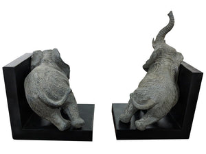 Elephant Book Ends Ornament Beautiful Elephant Book End Holder Design - VEHome