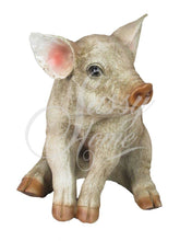 Load image into Gallery viewer, Sitting Pig Ornament Beautifully detailed Animal Figure - VEHome