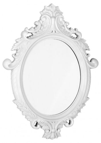 Classical Mirror Venetian Wall Mirror High Gloss In Black White Or Silver - VEHome