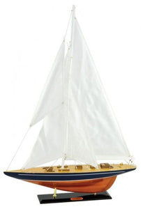 Model 'Enterprise' Sail Boat Large Boat Ornate Ornament - VEHome