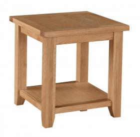 Stirling Lamp Coffee Table Solid Oak Wood
