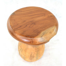 Load image into Gallery viewer, Tree Root Mushroom Stool Solid Tree Teak Root Natural