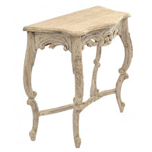 Load image into Gallery viewer, Vintage Carved Console Ornate Hand Made Table Solid Mahogany Wood