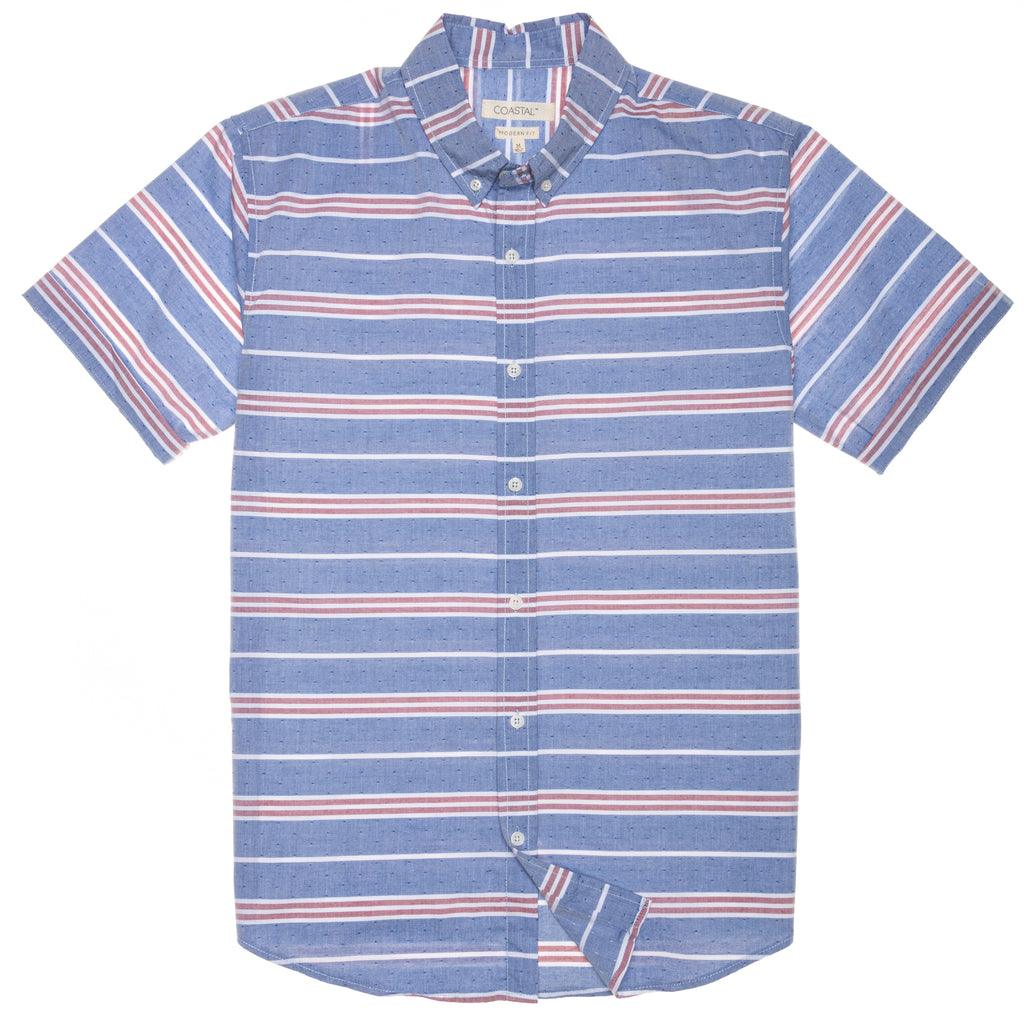 Adams Horizontal Stripe Shirt