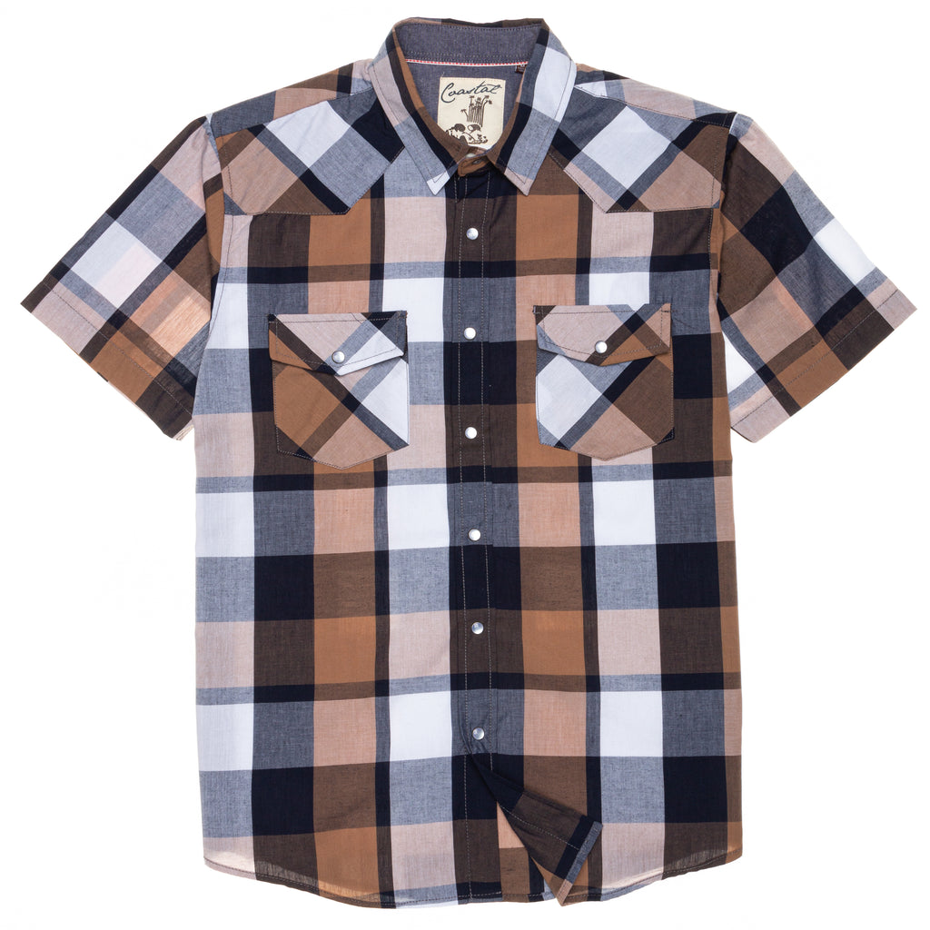 Clark Short Sleeve Snap Button Shirt