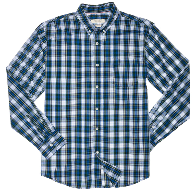 Kingsley Guys LS Button Front Shirt