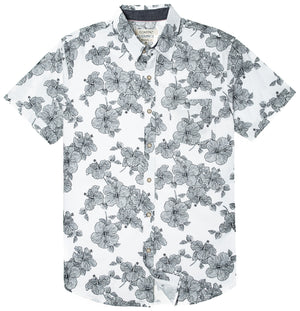 Makena Print Button Up