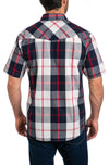Rio Men's Short Sleeve Snap Button Shirt