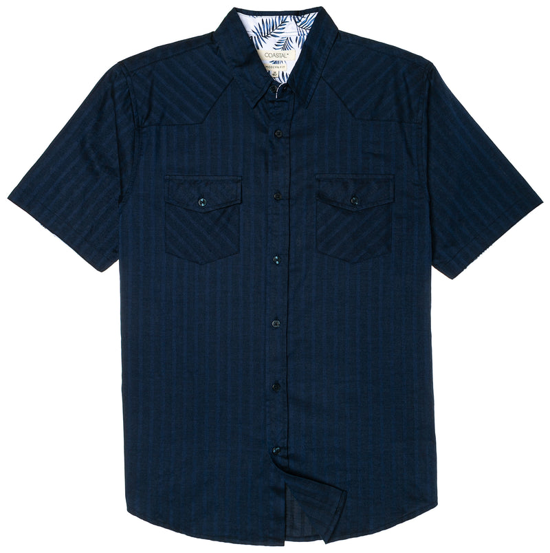 "COASTAL BLUE ""SHACK"" SOLID SHIRT"