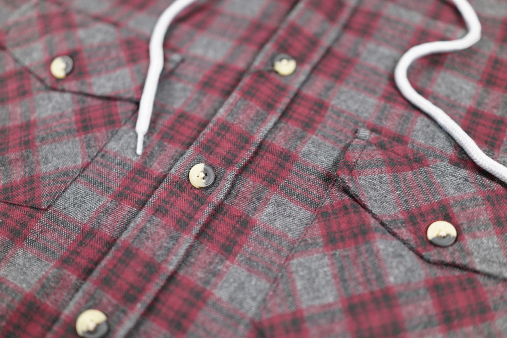 Wheaton Hooded Flannel